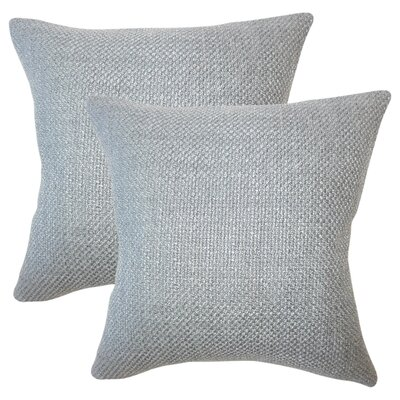 Glade Solid Throw Pillow Color: Platinum