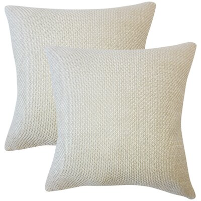 Glade Solid Throw Pillow Color: Seasame