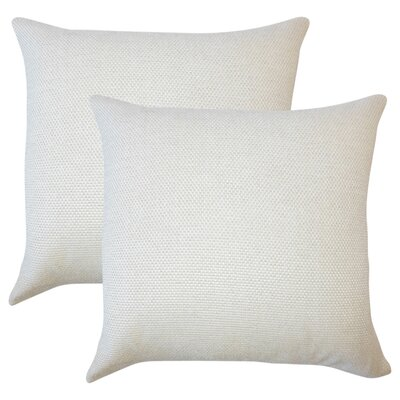 Chapple Solid Throw Pillow Color: Oyster