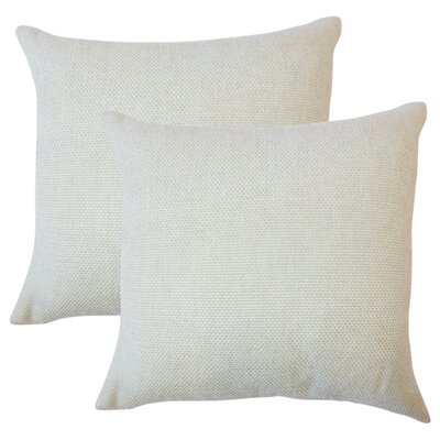 Chapple Solid Throw Pillow Color: Seafoam