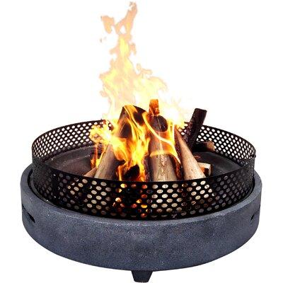 Feuerschale | Garten > Grill und Zubehör > Feürstellen | Grau | Home Loft Concept