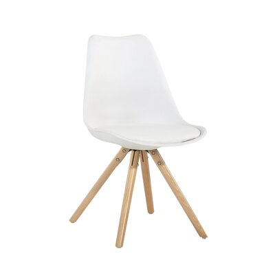Kathleen Dining Chair Color: White