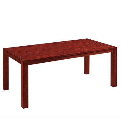Dining Table Color: Brown, Size: 29.5 H x 35 W x 71 L