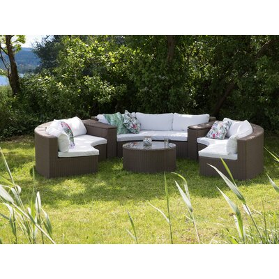 Exquisite Curved Sofa Set Product Photo
