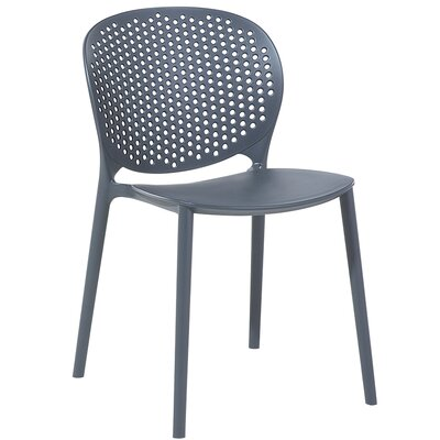 Cael Dining Chair Color: Anthracite