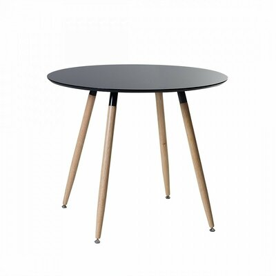 Bola Dining Table Color: Black
