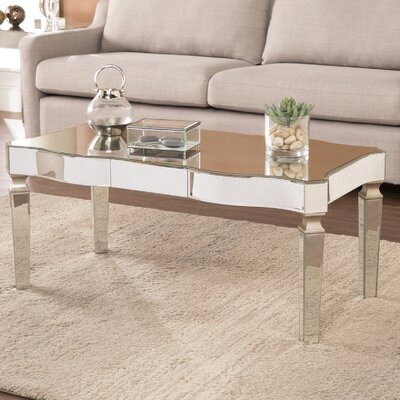 Paulsen Mirrored Coffee Table
