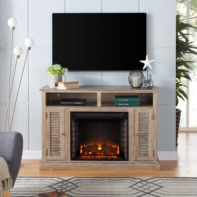 Jeske 48 TV Stand with Electric Fireplace