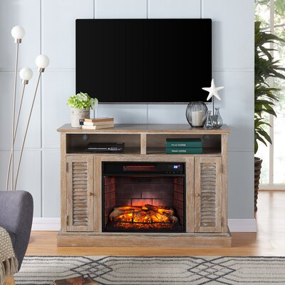 Jeske Infrared 48 TV Stand with Electric Fireplace