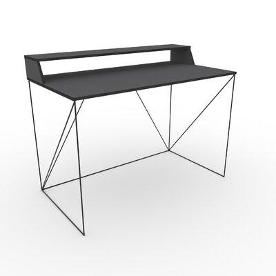 Schreibtisch Hennis | Büro > Bürotische > Schreibtische | Schwarzgrau | ModernMoments