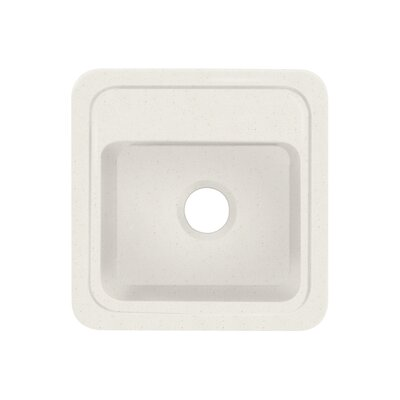 Concord 18 x 18 Single Bowl Kitchen Sink Finish: Matrix Summit