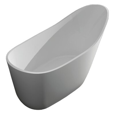 Vermillion 67 x 30 Freestanding Soaking Bathtub