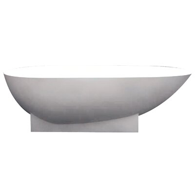Shea 72 x 36 Freestanding Soaking Bathtub