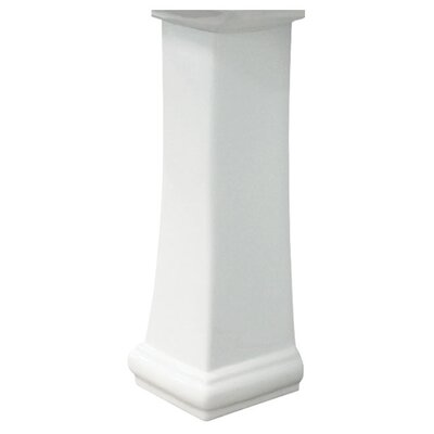 Avalon Vitreous China Pedestal Leg