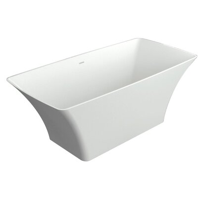 Lynville 60 x 30 Freestanding Soaking Bathtub