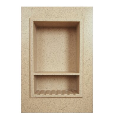 Solid Surface Recessed Shower Niche