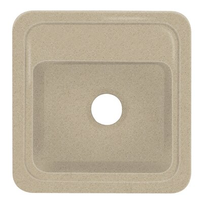 Concord 18 x 18 Single Bowl Kitchen Sink Finish: Matrix Sand