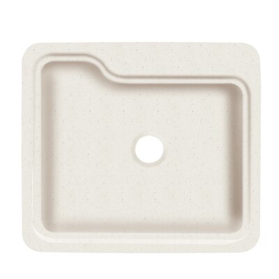 Portland 25 x 22 Single Bowl Kitchen Sink Finish: Matrix Summit