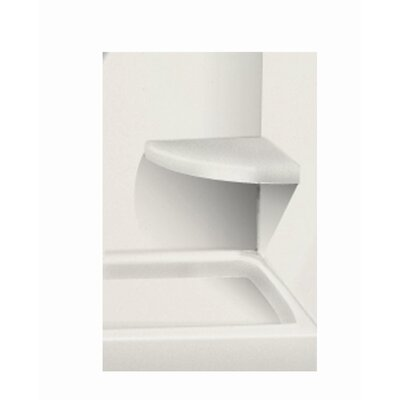 Solid Surface Built-in Shower Bench Finish: Matrix Summit