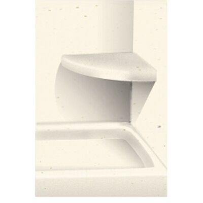 Solid Surface Built-in Shower Bench Finish: Moonlight