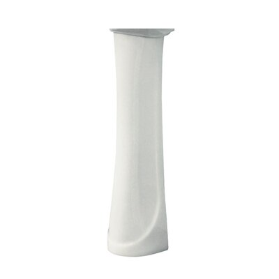 Madison Vitreous China Pedestal Leg Finish: White