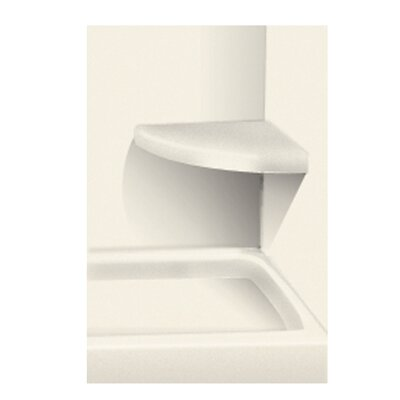 Solid Surface Built-in Shower Bench Finish: Cameo
