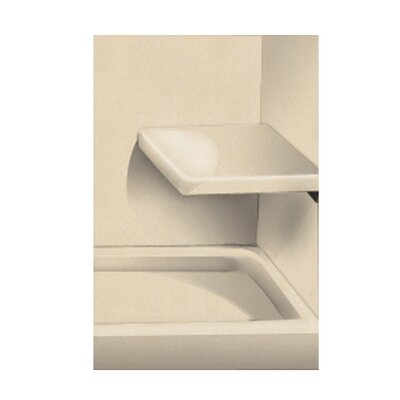 Solid Surface Built-in Shower Bench Finish: Sea Shore