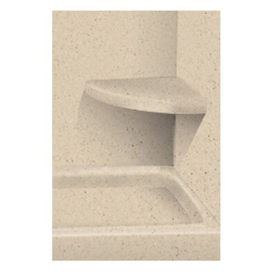 Solid Surface Built-in Shower Bench Finish: Matrix Khaki