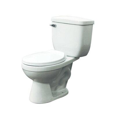Madison 1.28 GPF Round Two-Piece Toilet