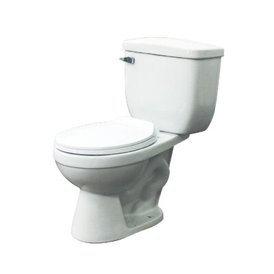Madison 1.6 GPF  Elongated Two Piece Toilet Lever Location: Left-Hand