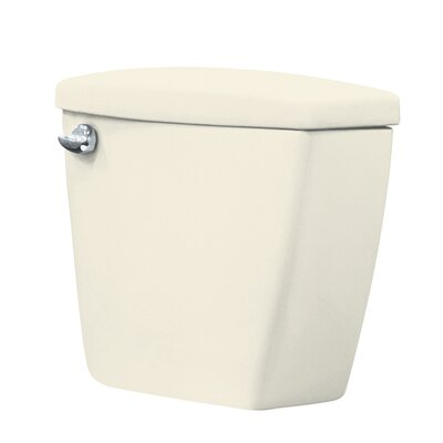 Harrison 1.28 GPF Toilet Tank Finish: Biscuit, Lever Location: Left-Hand