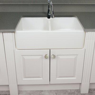 Villa 32 x 20 Double Basin Farmhouse Kitchen Sink