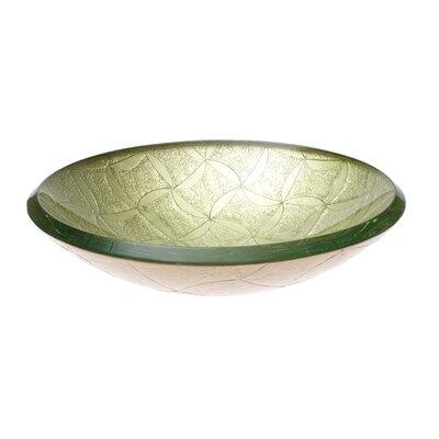 Klimt Glass Circular Vessel Bathroom Sink