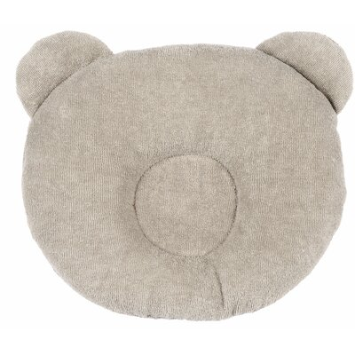 Panda Terry Cotton Floor Pillow Color: Hazel