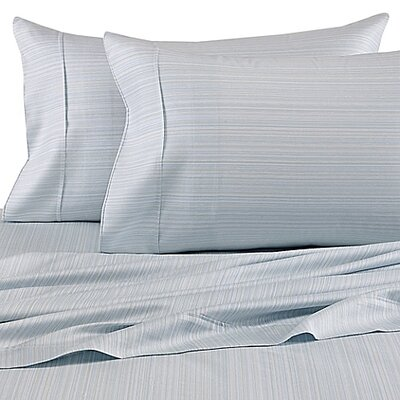 300 Thread Count Cotton Sheet Set Size: King, Color: Seafoam