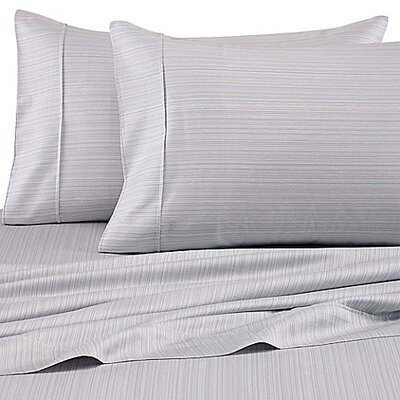 300 Thread Count Cotton Sheet Set Size: King, Color: Cinder