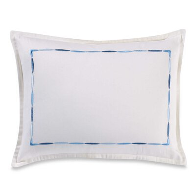 Soft Stitch Cotton Lumbar Pillow