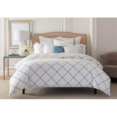 Soft Stitch Duvet Cover Size: King