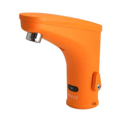 IKool Centerset Sensor Electronic Bathroom Faucet Finish: Orange