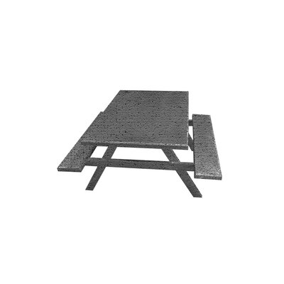 Picnic Table Color: Gray