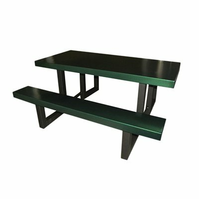 Picnic Table Finish: Green Tatter