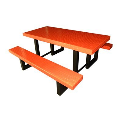 Picnic Table Finish: Orange