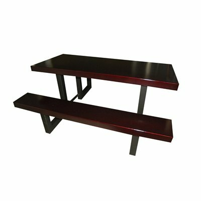 Picnic Table Finish: Burgundy