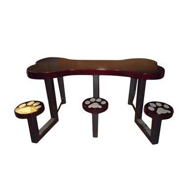 Picnic table Finish: Burgundy
