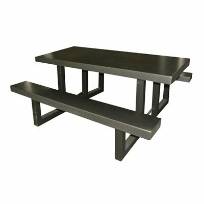 Picnic Table Finish: Gray