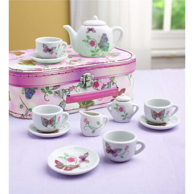 12 Piece Butterfly Tea Set 730434