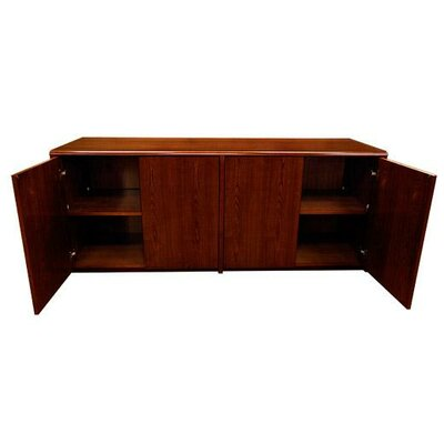 Waterfall Series Sideboard Color: Mahogany