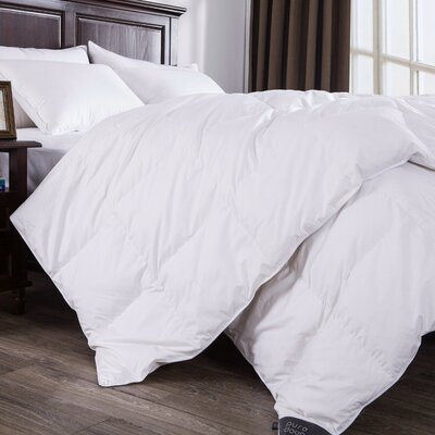 Midweight Down Duvet Insert Size: Full / Queen