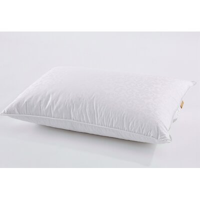 Triple Chamber Goose Down and Feathers Pillow Size: Standard