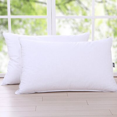 Triple Chamber Down and Feathers Pillow Size: Standard